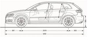 2010 Audi A3 Weight  Volume And Dimensions