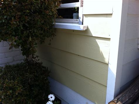 Redwood Window Sill by After Window Frame Was Fixed And Redwood Window Sill