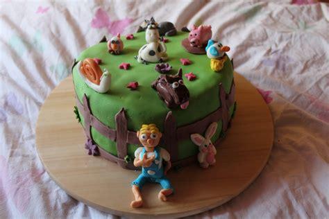 g 226 teau d anniversaire les animaux de la ferme qui aime cuisiner aime mangerqui aime cuisiner