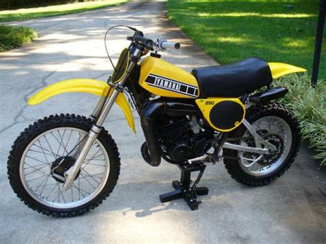 yellow yamaha yz  sale find  sell motorcycles