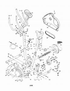 Weslo Model 831283101 Cycle Genuine Parts