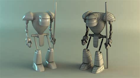 Robot 3d Model By Stake0113 On Deviantart