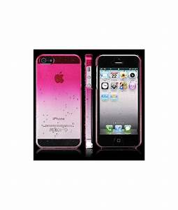 Coque Iphone 5 : coque crystal water rose pour iphone 5 5s se 5c ~ Teatrodelosmanantiales.com Idées de Décoration