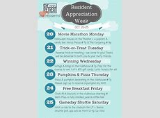 We love our residents! Resident appreciation week event