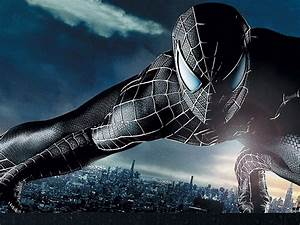 spiderman 3 black suit wallpaper