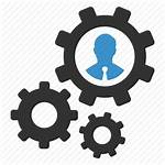 Icon Process Icons Management Support Optimization Gear