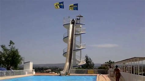 aqualand portugal algarve  alcantarilha youtube