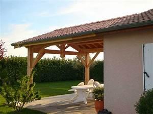 Abri De Terrasse : construction abri terrasse avec charpente bois tout bois ~ Premium-room.com Idées de Décoration
