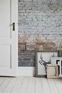 Papier Peint Trompe L Oeil Brique : papier peint trompe l 39 oeil ou comment cr er l 39 effet d ~ Premium-room.com Idées de Décoration