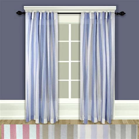 coastal stripe curtains