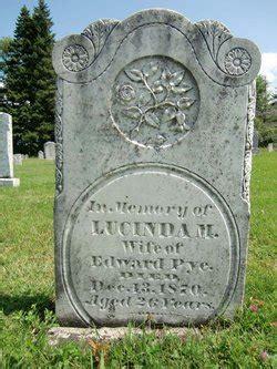 lucinda melisa virgie pye   find  grave memorial