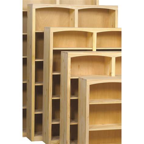 Pine Bookcases Furniture by Archbold Furniture Bookcases Solid Pine Bookcase With 8