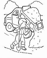 Dump Coloring Truck Pages Trucks Printable Construction Garbage Finest Tow Boys Printing Animation Comics Unique Popular Getcoloringpages Help Coloringhome sketch template