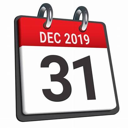 December Clip Calendar Dag Month Last Illustrations