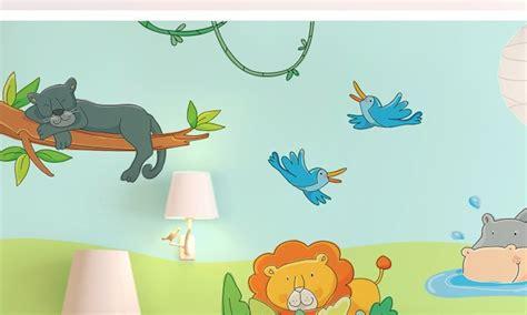 Stickers Per Camerette Bambini by Stickers Murali Bambini Cameretta Il Libro Della Giungla