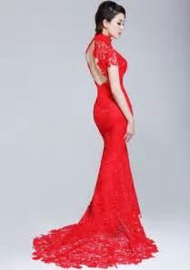 wedding dresses from china lace fishtail cheongsam qipao wedding dress cozyladywear