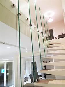 Garde Corps Escalier Interieur : garde corps verre escalier verre righetti ~ Dailycaller-alerts.com Idées de Décoration