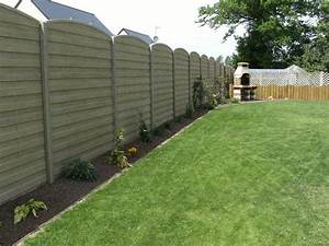 cloture jardin porte cloture bois sfrcegetel With cloture jardin en beton