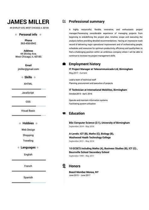 Build My Resume by Resume Maker Create A Resume In 5 Minutes