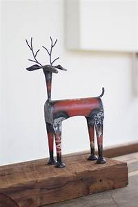 Recycled Iron Deer