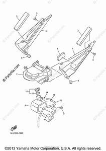 Yamaha Motorcycle 2003 Oem Parts Diagram For Side Cover