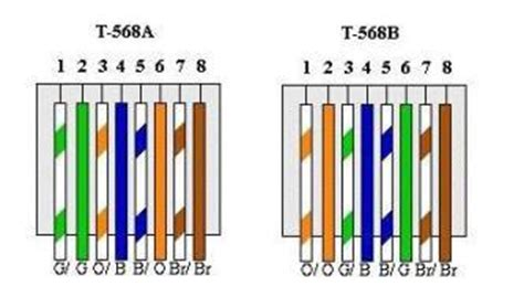 T568 Wiring Diagram by Differences Between T568a And T568b Explained Cabling