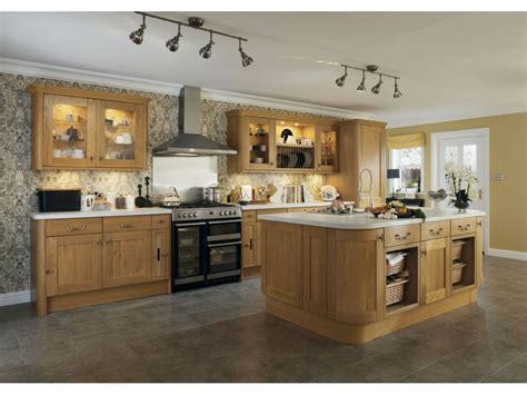 cuisines bois cuisine equipee bois clair maison moderne