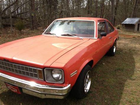 Find Used 1979 Chevrolet Nova Base Coupe 2-door 5.0l In
