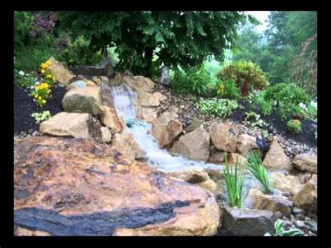 Backyard Streams And Waterfalls by Soergel S Aquascapes A Water Garden Paradise In Your