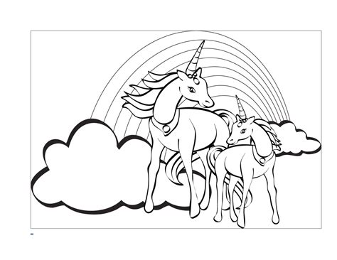 unicorn coloring pages  printable coloring home