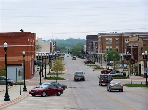 iowa cherokee towns town downtown cities county retire ia naughty conn flickr panoramio then map closure prepares tyson plant present