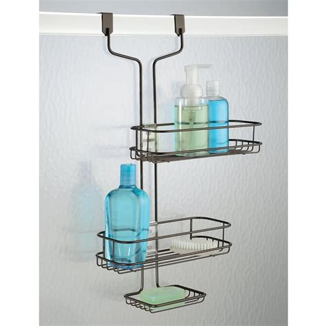 door caddy  door double shelf hanging shower caddy