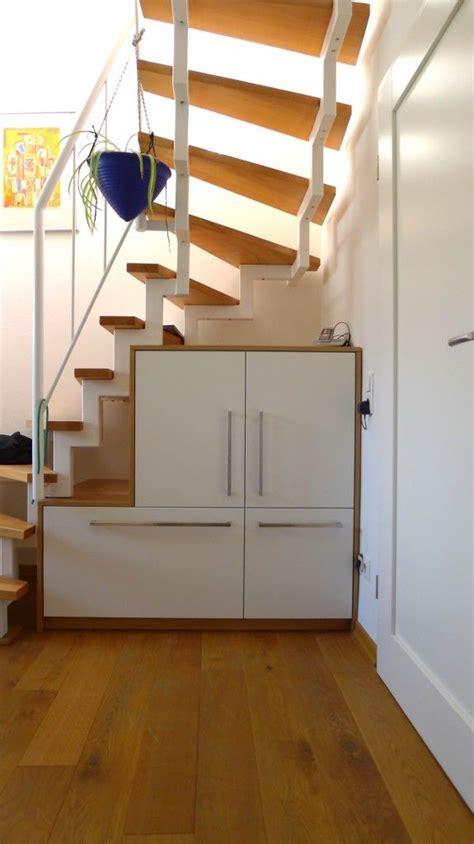 Garderobe Unter Offener Treppe by Stauraum Unter Offene Treppe Fevziye In 2019 Stairs
