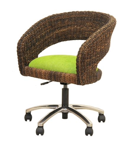 rattan swivel chair