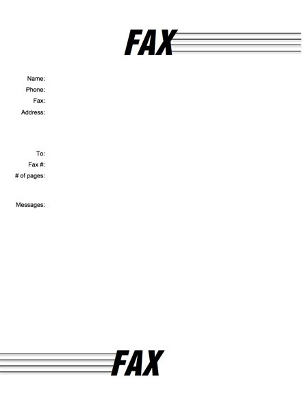 12373 free basic fax cover sheet basic 04 cover sheet templates by myfax