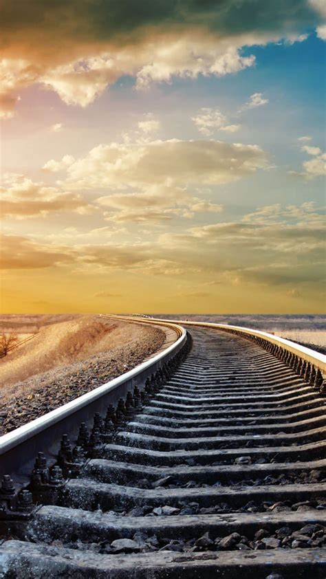 Railroad 720x1280 Hd Wallpaper  Android Wallpapers Free