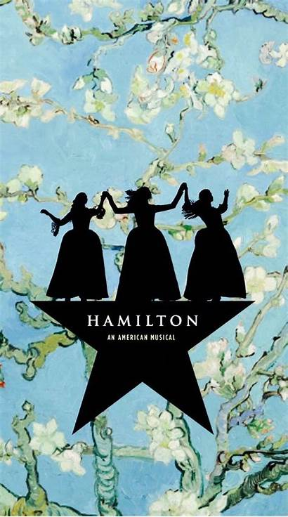 Hamilton Wallpapers Musical Quotes Sisters Schuyler Broadway