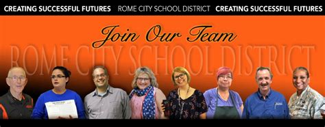 people operations hr rome city school district