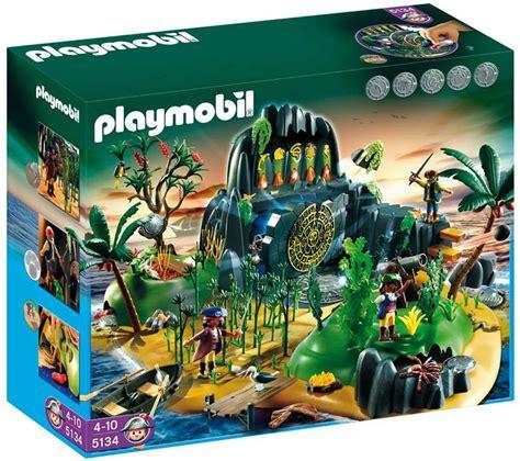 playmobil pirate adventure treasure island  table