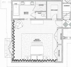 Awesome Modern Master Suite Floor Plans With Master ...