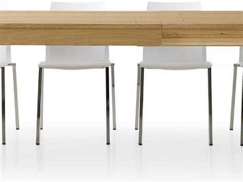 tavoli rovere naturale tavolo rovere naturale doppia allunga