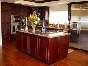 Glamorous 50 kitchen design oak cabinets inspiration of for Best brand of paint for kitchen cabinets with california wood wall art