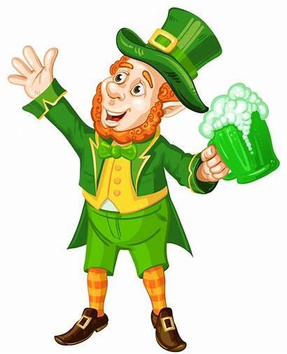 Leprechaun Patrick Transparent St Beer Clipart Patricks