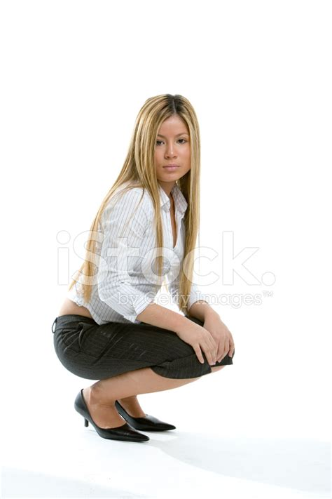 Pretty Girl Crouching Stock Photos - FreeImages.com