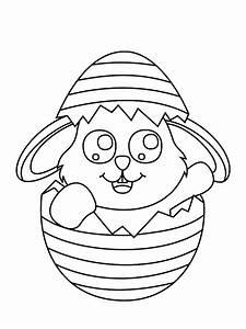 Dessin A Imprimer De Paques : dessin de lapin de paque a imprimer lyccee buron ~ Melissatoandfro.com Idées de Décoration