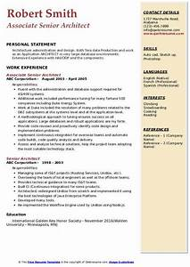 Build Resume Free Download Senior Architect Resume Samples Qwikresume