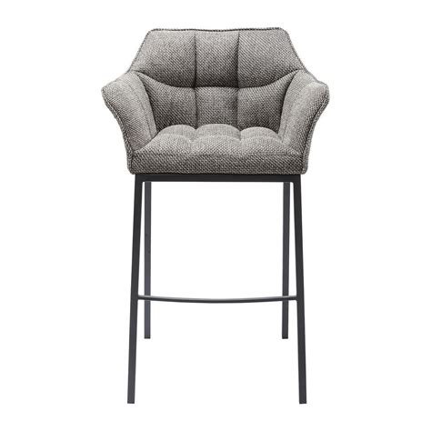Tabouret de bar contemporain gris Thinktank Quattro