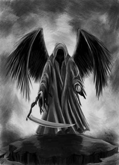 The Angel Of Death  The Interdimensional Traveler