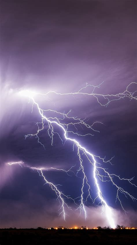 lightning storm bad weather 750x1334 iphone 8 7 6 6s wallpaper background picture image