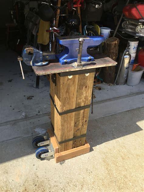 portable anvil stand forging blacksmith tools knife making tools blacksmith forge